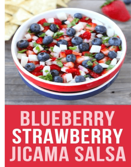 Blueberry Strawberry Jicama Salsa – Integrative Health and Hormone ...